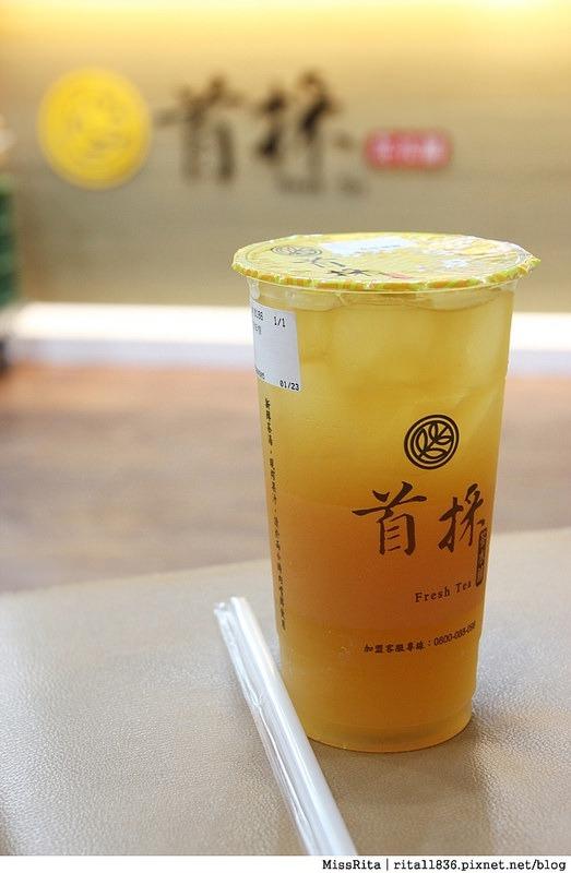 台中飲料 首採茶水鋪 潭子潭興店9