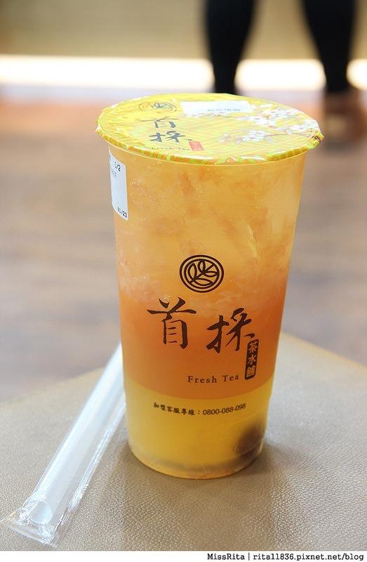 台中飲料 首採茶水鋪 潭子潭興店7