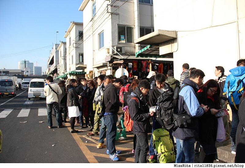 日本東京 築地市場 逛街 生魚片 丼飯 推薦美食27