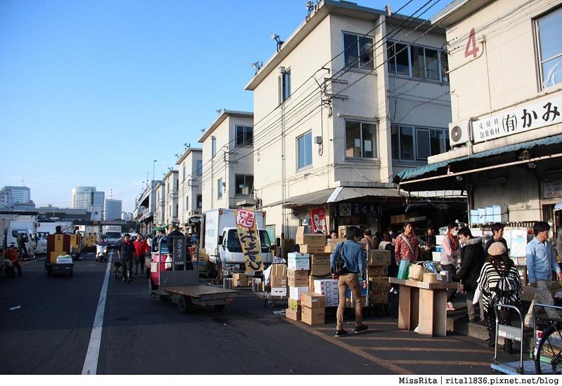 日本東京 築地市場 逛街 生魚片 丼飯 推薦美食23