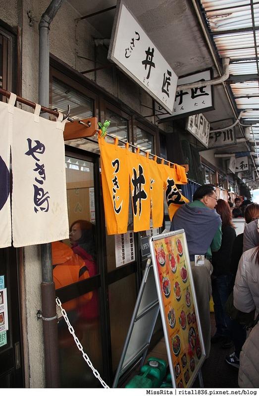 日本東京 築地市場 逛街 生魚片 丼飯 推薦美食26