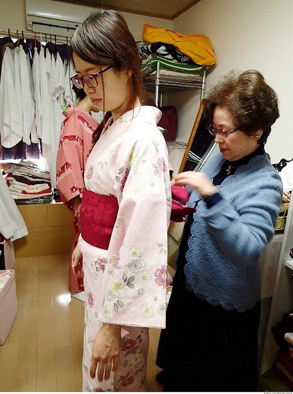 日本東京 東京和服體驗 淺草和服 淺草七變化 淺草七變化預約教學12