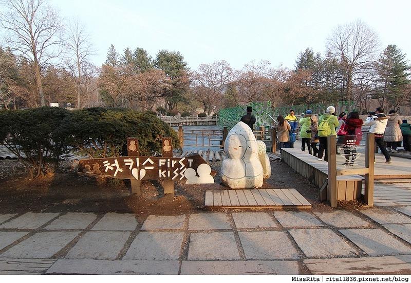 韓國 旅遊 韓國好玩 韓國 南怡島 韓劇景點 冬季戀歌場景 南怡島14