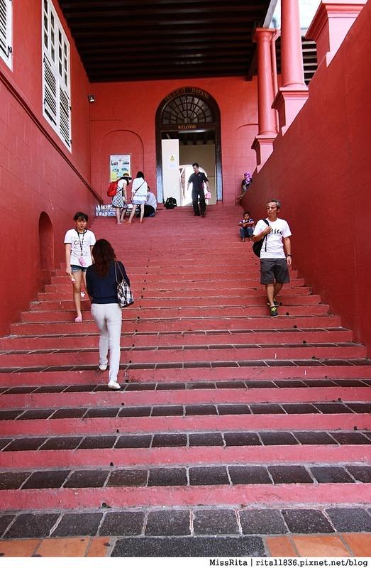 馬來西亞 麻六甲 馬六甲景點 荷蘭紅屋廣場 聖保羅堂St. Paul's Church 馬六甲蘇丹王朝水車 海上博物館5