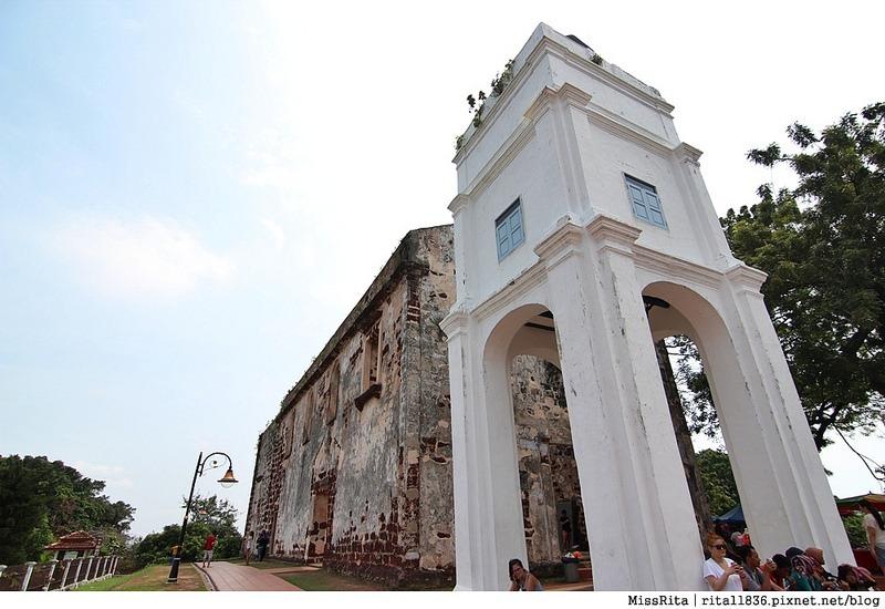 馬來西亞 麻六甲 馬六甲景點 荷蘭紅屋廣場 聖保羅堂St. Paul's Church 馬六甲蘇丹王朝水車 海上博物館13