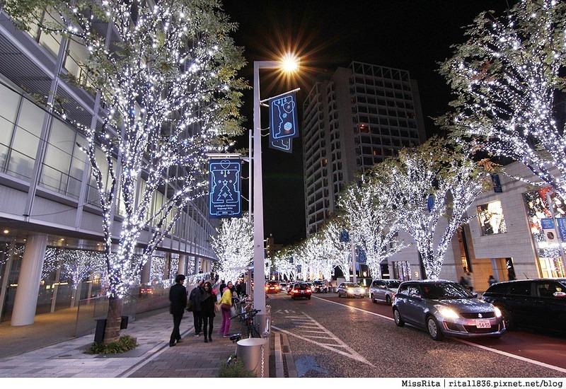 日本東京 東京夜景 六本木之丘 六本木Hills 六本木夜景 Tokyo city view 六本木大道 東京聖誕點燈 2014東京點燈16