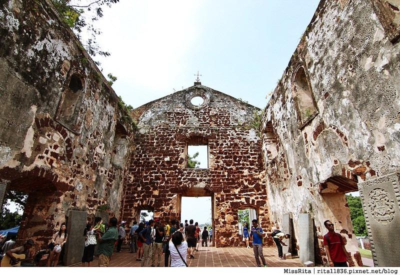 馬來西亞 麻六甲 馬六甲景點 荷蘭紅屋廣場 聖保羅堂St. Paul's Church 馬六甲蘇丹王朝水車 海上博物館23