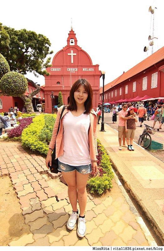 馬來西亞 麻六甲 馬六甲景點 荷蘭紅屋廣場 聖保羅堂St. Paul's Church 馬六甲蘇丹王朝水車 海上博物館30