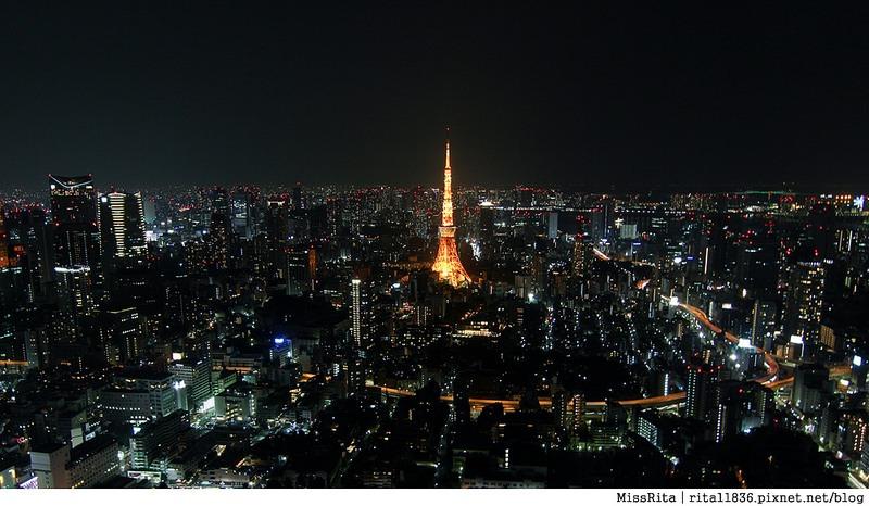 日本東京 東京夜景 六本木之丘 六本木Hills 六本木夜景 Tokyo city view 六本木大道 東京聖誕點燈 2014東京點燈6