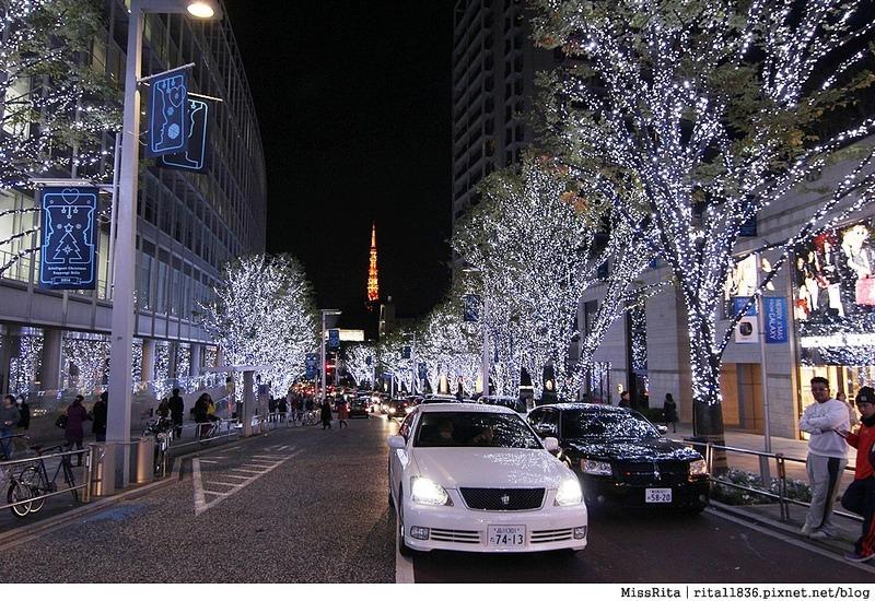 日本東京 東京夜景 六本木之丘 六本木Hills 六本木夜景 Tokyo city view 六本木大道 東京聖誕點燈 2014東京點燈18