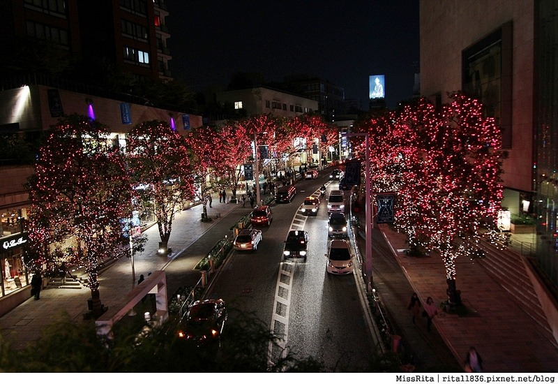 日本東京 東京夜景 六本木之丘 六本木Hills 六本木夜景 Tokyo city view 六本木大道 東京聖誕點燈 2014東京點燈10