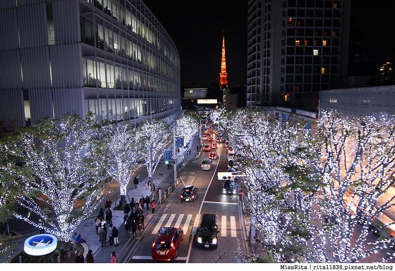 日本東京 東京夜景 六本木之丘 六本木Hills 六本木夜景 Tokyo city view 六本木大道 東京聖誕點燈 2014東京點燈14