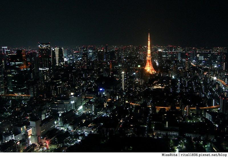 日本東京 東京夜景 六本木之丘 六本木Hills 六本木夜景 Tokyo city view 六本木大道 東京聖誕點燈 2014東京點燈4