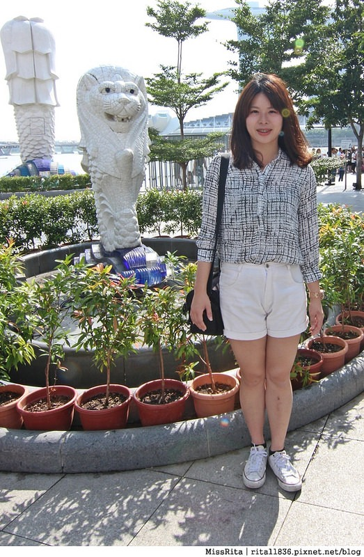 新加坡地標 新加坡好玩 魚尾獅公園 merlion park 新加坡地鐵10