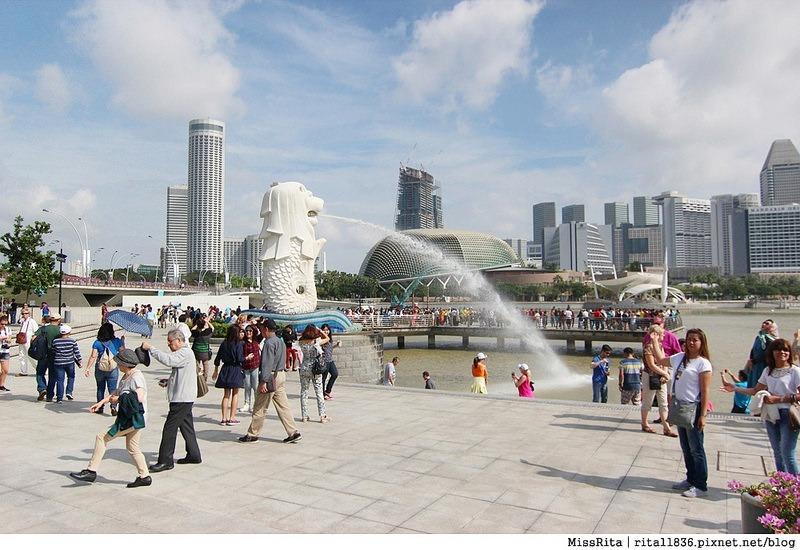 新加坡地標 新加坡好玩 魚尾獅公園 merlion park 新加坡地鐵18