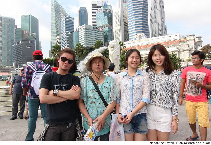 新加坡地標 新加坡好玩 魚尾獅公園 merlion park 新加坡地鐵16