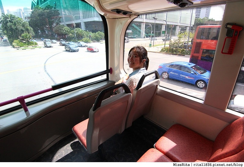 Singapore 新加坡景點 新加坡新達城 Suntec 財富之泉 新加坡財富之泉 Fountain of Wealth Suntec City Mall 新加坡雙層觀光巴士 新加坡公車7