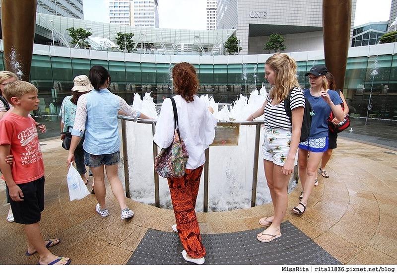 Singapore 新加坡景點 新加坡新達城 Suntec 財富之泉 新加坡財富之泉 Fountain of Wealth Suntec City Mall 新加坡雙層觀光巴士 新加坡公車13