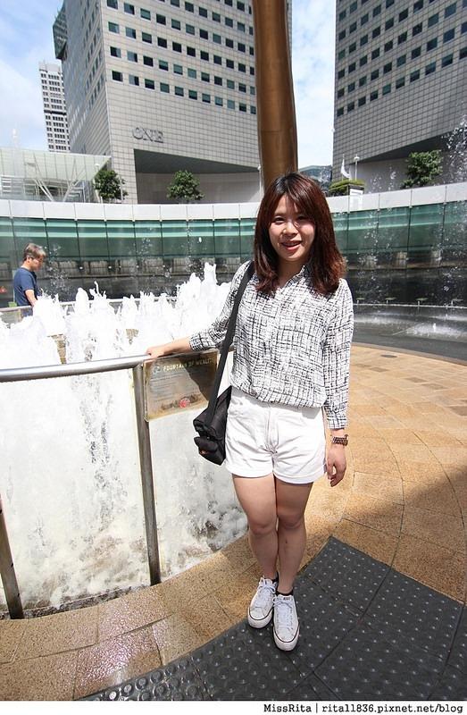 Singapore 新加坡景點 新加坡新達城 Suntec 財富之泉 新加坡財富之泉 Fountain of Wealth Suntec City Mall 新加坡雙層觀光巴士 新加坡公車15
