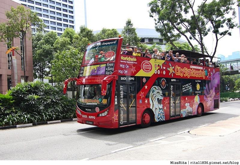 Singapore 新加坡景點 新加坡新達城 Suntec 財富之泉 新加坡財富之泉 Fountain of Wealth Suntec City Mall 新加坡雙層觀光巴士 新加坡公車4