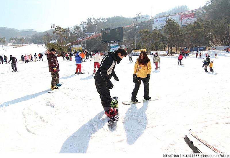 韓國滑雪 韓國滑雪度假村 韓國滑雪場 奧麗山莊渡假村 Oak Valley Oak Valley滑雪場 江原道滑雪 韓國滑雪推薦 오크밸리스키장15