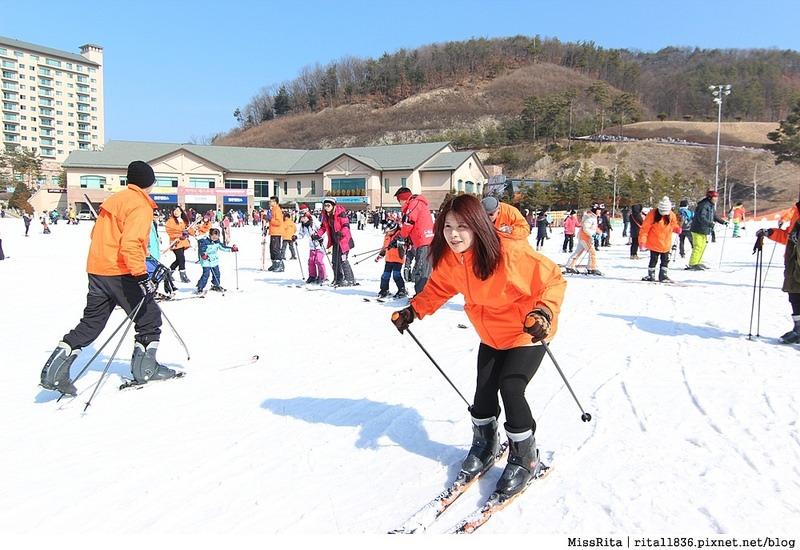 韓國滑雪 韓國滑雪度假村 韓國滑雪場 奧麗山莊渡假村 Oak Valley Oak Valley滑雪場 江原道滑雪 韓國滑雪推薦 오크밸리스키장9