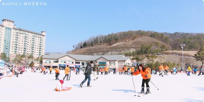 韓國滑雪 韓國滑雪度假村 韓國滑雪場 奧麗山莊渡假村 Oak Valley Oak Valley滑雪場 江原道滑雪 韓國滑雪推薦 오크밸리스키장0-