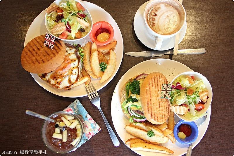 Burger Bus 漢堡巴士 旱溪美食 台中早午餐 台中漢堡 台中英式餐廳 Burger Bus 英國開車玩一圈 台中推薦早午餐0