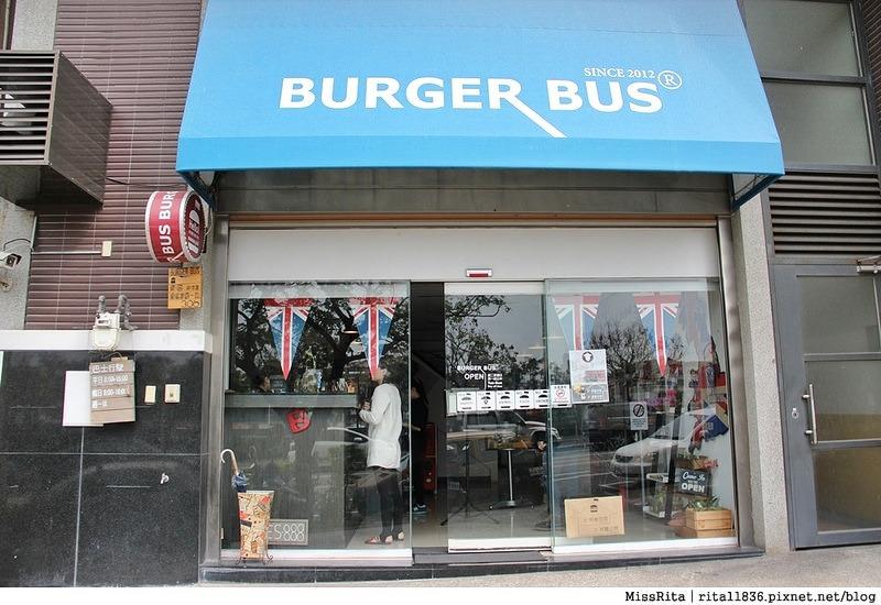 Burger Bus 漢堡巴士 旱溪美食 台中早午餐 台中漢堡 台中英式餐廳 Burger Bus 英國開車玩一圈 台中推薦早午餐1