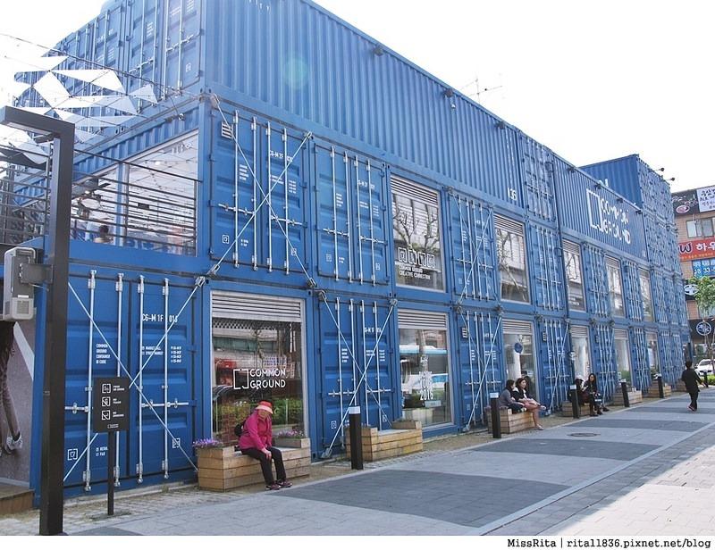 首爾景點 藍色貨櫃屋 common ground 首爾建大 建大捷運站 首爾潮流 2016韓國景點 韓國團體 韓國自由行 世界最大貨櫃屋商城 建大貨櫃屋商場 MARKET GROUND 11
