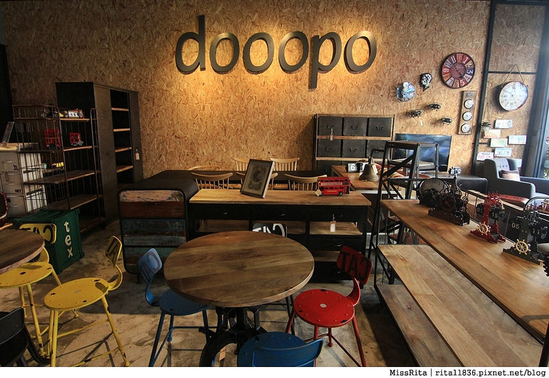 一粒麥子 台中桌遊 台中耶誕聚 台中桌遊店 一粒麥子桌遊 工業風 Dooopo 都品家居9