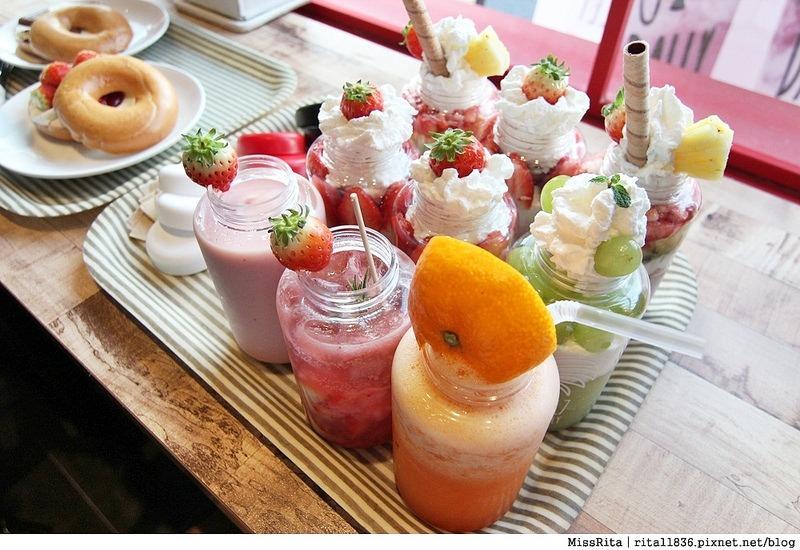 釜山咖啡廳 釜山美食 釜山西面 U:Dally udally Busan u dally西面 韓國草莓奶昔9